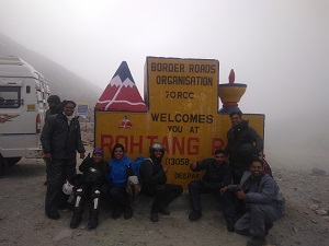 Chandratal - Manali (Via Rohtang Pass - 3978 Mtr.)